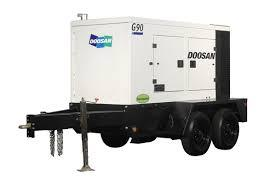 Rental store for g90 doosan generator in Northeastern and Central Pennsylvania