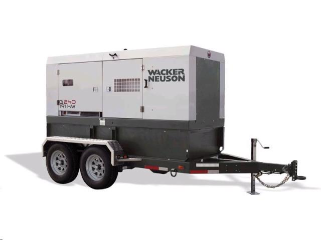 Rental store for g240 trailer mounted generator in Northeastern and Central Pennsylvania