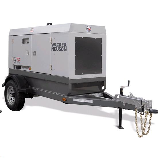 Rental store for g70 trailer mounted generator in Northeastern and Central Pennsylvania